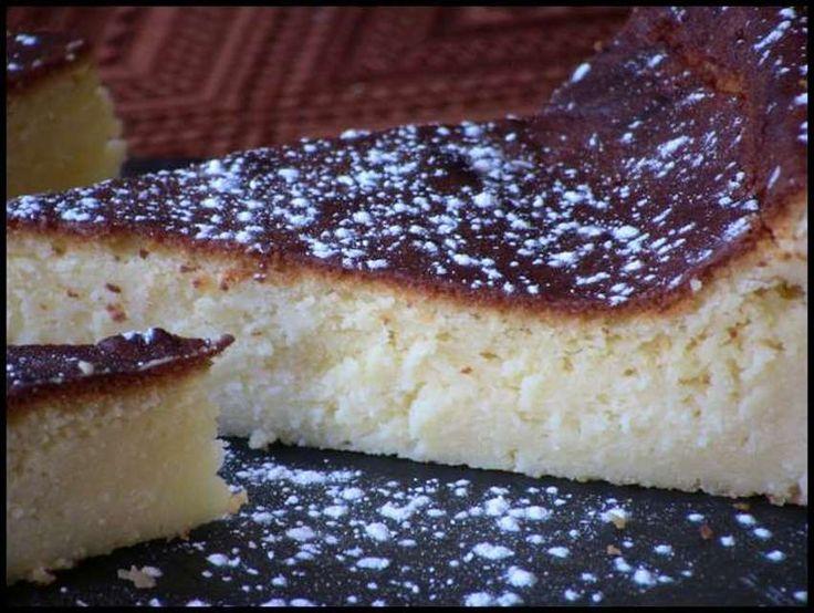 Tarta de queso batido