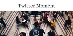 Moment su Twitter