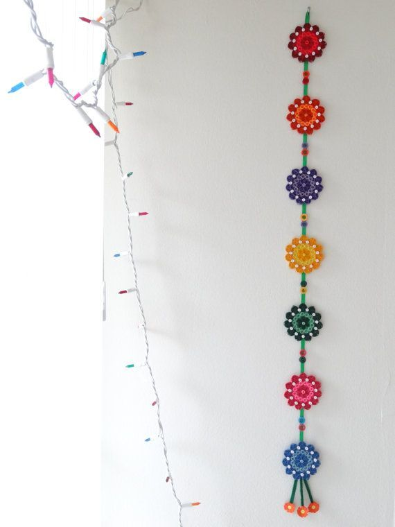 Multicolor Floral Paper Quilled handmade Wall by IvyArtWorks, $20.00: