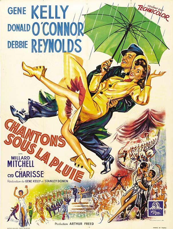 Redécouvrez la bande-annonce du film Chantons sous la pluie ponctuée des secrets de tournage et d'anecdotes sur celui-ci. ☛ Chantons sous la pluie (Singin'