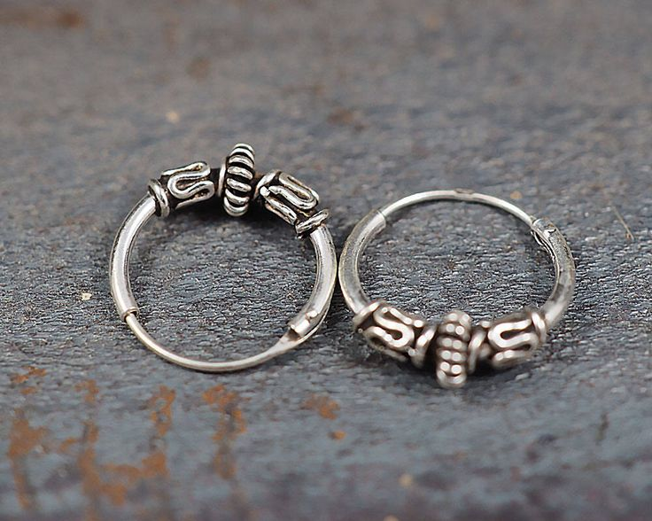 A personal favorite from my Etsy shop https://www.etsy.com/listing/517613006/12mm-bali-hoop-earrings925-sterling