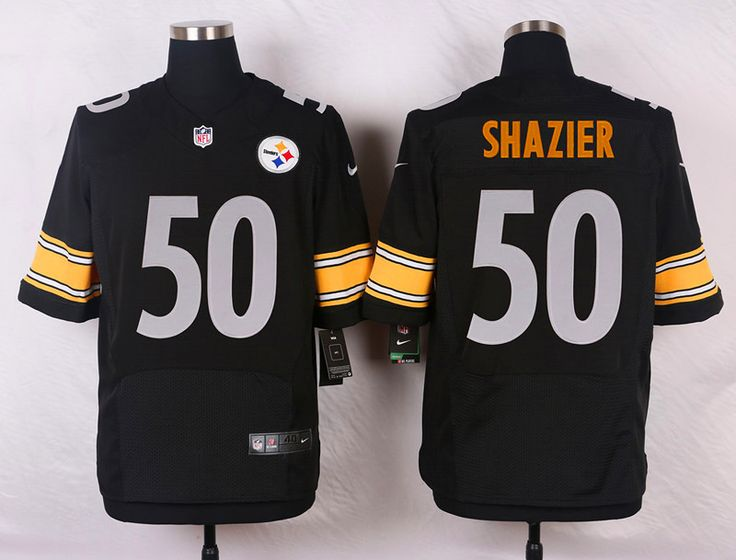 8ea7d23cf91 ... Mitchell and Ness White Authentic Adult Road Throwback NFL Jersey Mens  NFL Pittsburgh Steelers 50 Ryan Shazier White Elite Jersey ...