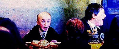 4. When he was truly terrified. | 16 Times Draco Malfoy Was Too Adorable For Words