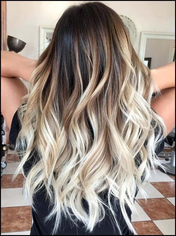 24 Beautiful Balayage Bombre And Ombre Hair Color Trends For