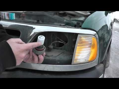 '97 F150 headlight bulb replacement
