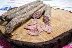 Salam de casa - reteta asemanatoare cu salamul de Sibiu