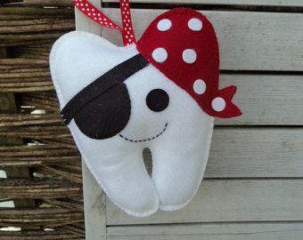 Tooth Fairy Cushion/Pirate