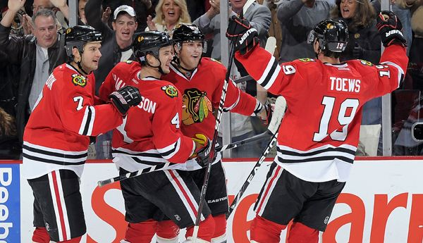 The Chicago Blackhawks Are Going Streaking, 23 And Counting...