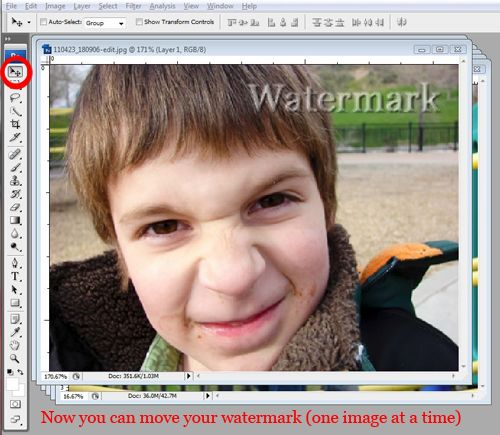 how to make a photography watermark in photoshop