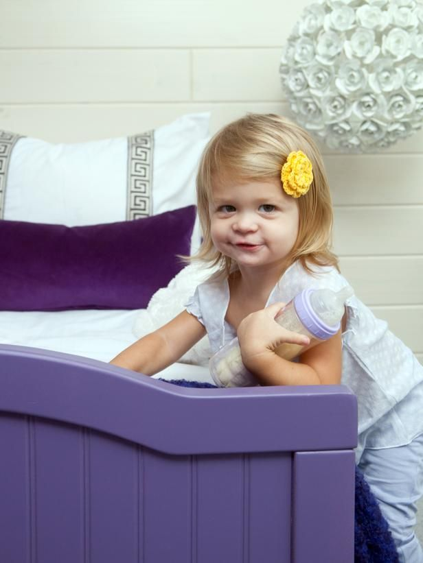 How to Give a Basic Toddler Bed a Designer Look Tutorial