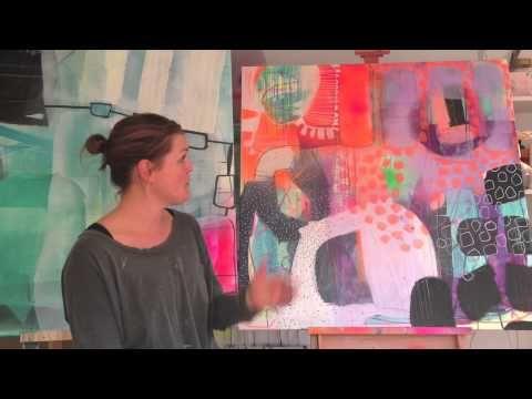 Mettes Maleskole: Undervisningsvideoer i abstrakt maleri