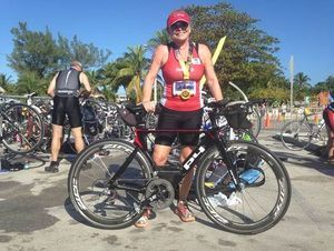 Local Resident Overcomes Fear of Swimming at 57, Helps Others Do the Same for NYC Triathlon - Faces & Places - Cape May County Herald