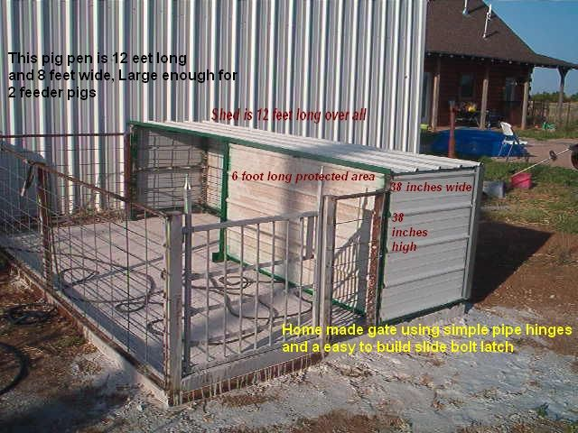 pig pens | ... at 640 × 480 in Gardening – Farm And Small Livestock Pen / Shed