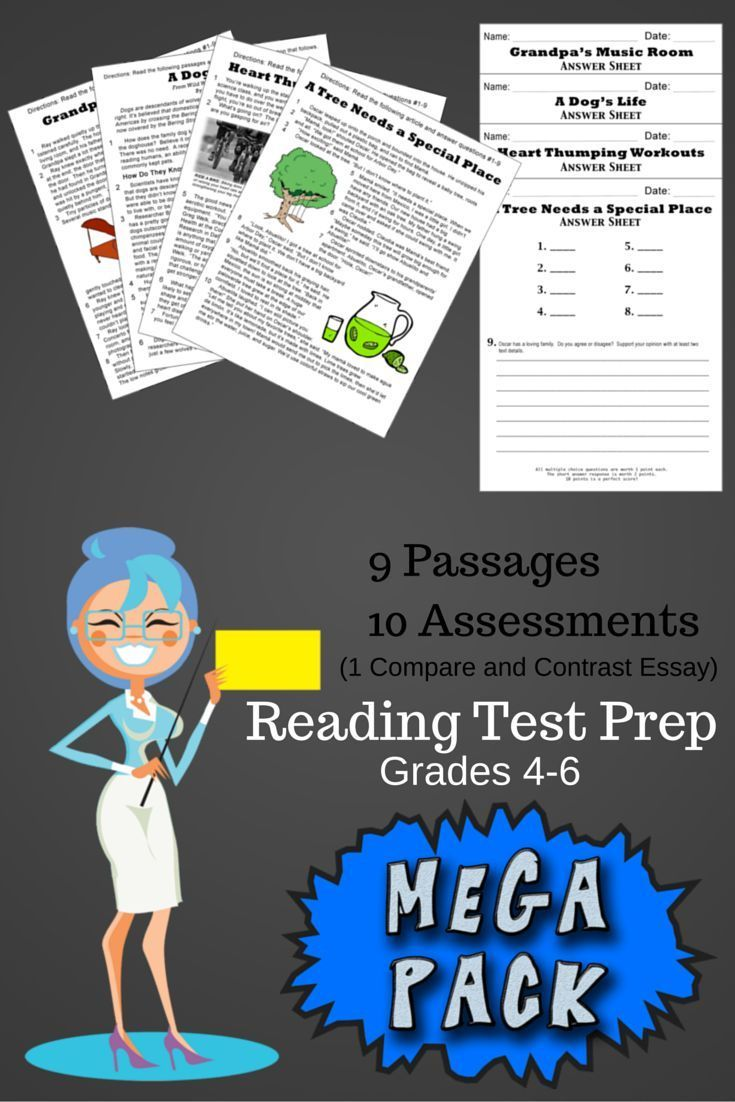 Reading Test Prep from Elsies Corner   Our passages and questions match the intensity your kiddos will see on this year  39 s standardized tests