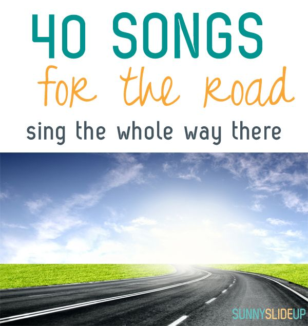 road trip songs to keep you going the whole trip long - there is sure to be a song for everyone on this list!