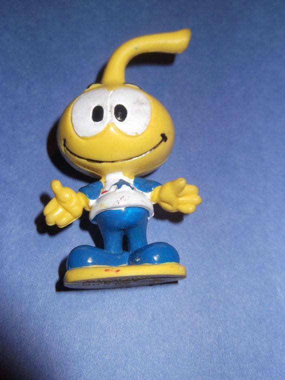 Vintage 1983 Schleich co. Snorks All-Star Figure / The Snorks 1980s TV Cartoon Toy via Etsy
