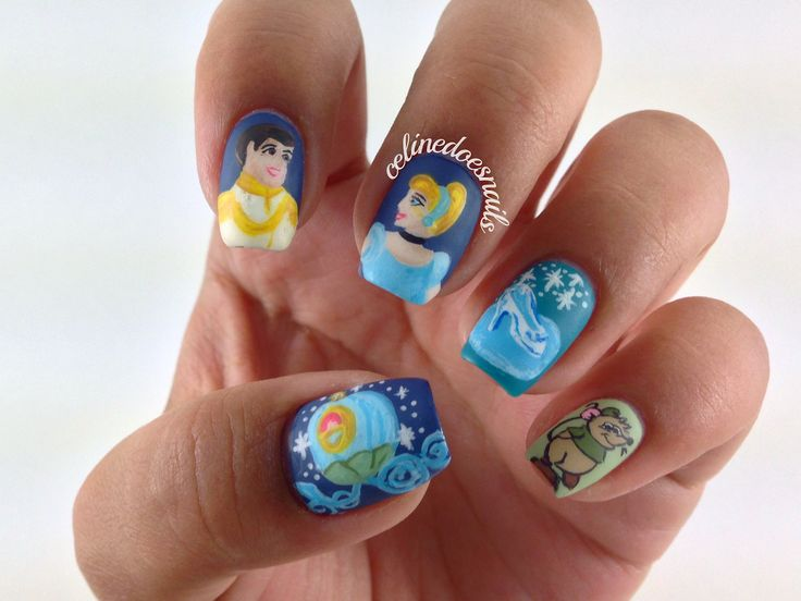 784 best images about Nail polish on Pinterest | Disney ...