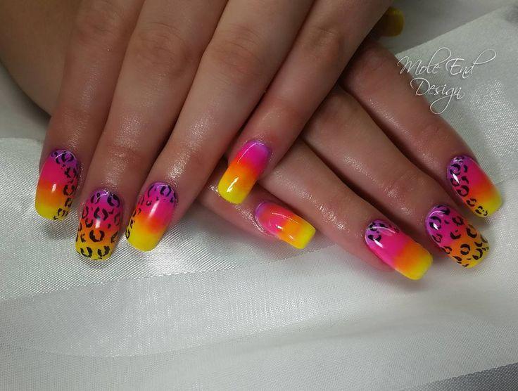 Safari nails for a trip to Kruger National Park. Pigments with painted animal print details #pigmentnails #acrylicnails #safarinails #nailart #animalprint #neon #instanails #nailpro #nailgame #nailgasm #nailista #nailswag #nailsdid #nailstagram #teamgorgeous #showscratch #scratchnails #nailsmagazine #instagood #cutenails #nailartjunkie #nailsoftheday #nailartaddict  #naildesigns #nailpromote #shaftesburynails #dorsetnails #gillinghamnails #moleenddesign