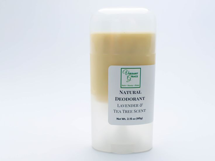 Lavender & Tea Tree Natural Deodorant Bar 2.15 oz