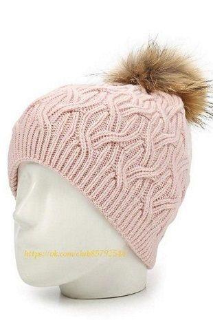 Схема узора для вязания шапки спицами