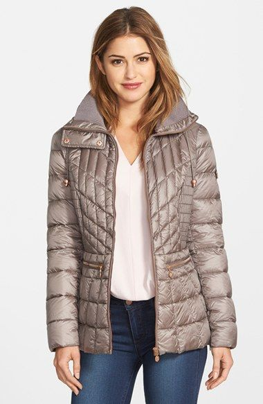 Bernardo Packable Jacket with Down & PrimaLoft® Fill (Regular & Petite) available at #Nordstrom