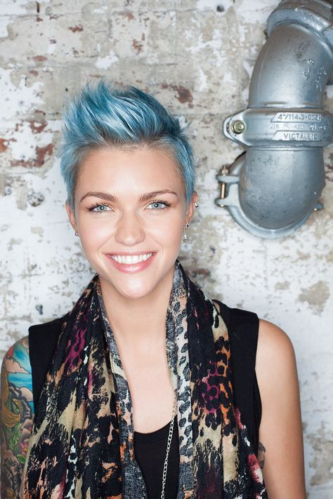 ruby rose faux hawk - Google Search