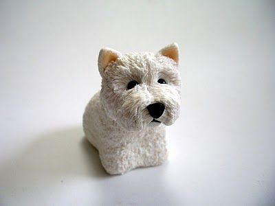 So detailed polymer clay dog