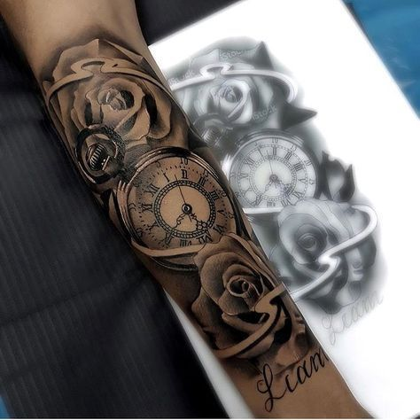 "5,850 tanned, 29 comments – Tattoo Lifestyle💉 (Ink Terminal) on Instagram: ""Rose x Tiger Eyes Sleeve Artist IG @ ebone.capone DM for a Feeling …"