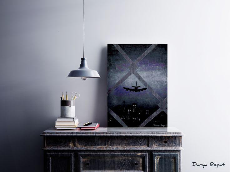 My painting/ A big city... Darya Ropat