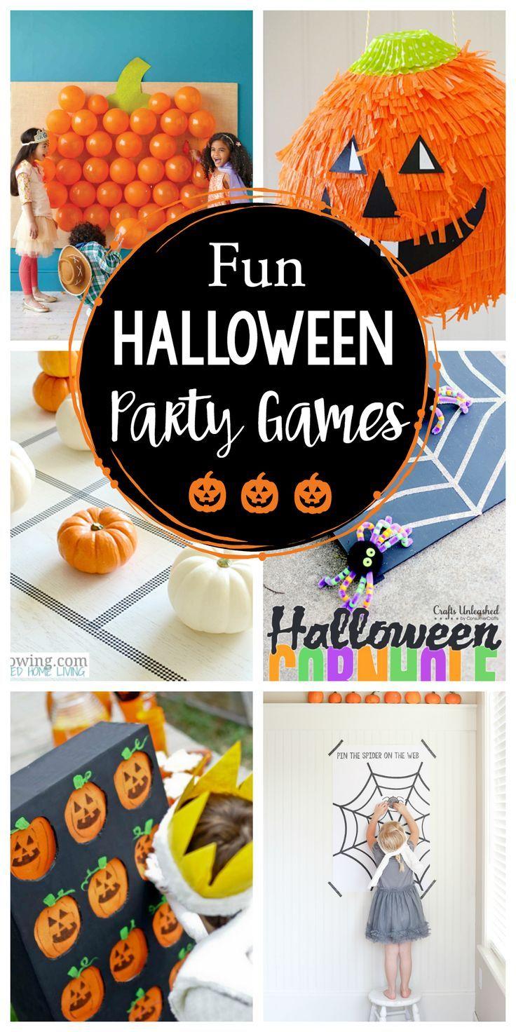 25 Fun Halloween Party Games Fun Squared Fun Halloween Party Games Birthday Halloween Party Halloween Party Craft
