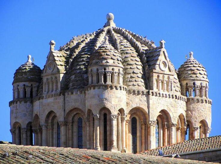 Cimborrio de la Catedral de Zamora - Cúpula Románica levantada en el S. XII