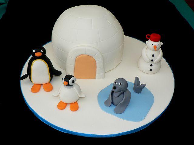 Pingu cake   Flickr - Photo Sharing!