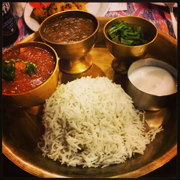 Thakali thali nepal in pictures pinterest nepal for Cuisine of nepal