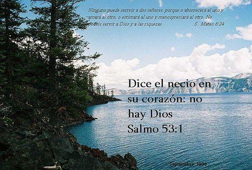 SALMOS: Salmo 53 (52) - Necedad de los pecadores