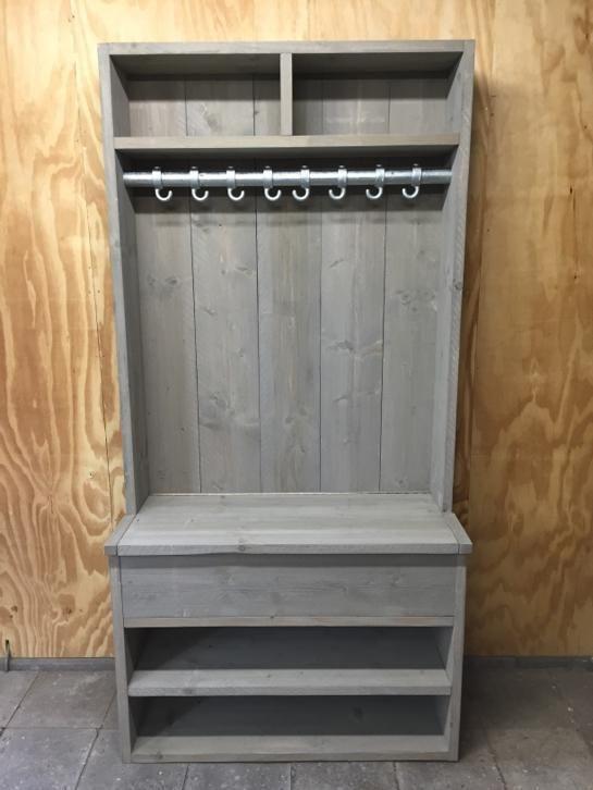 Top Garderobe/kapstok/schoenenkast met klep gemaakt van nieuw &HN99