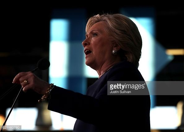 News Photo : Democratic presidential nominee former Secretary...