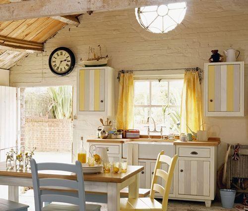 17 mejores ideas sobre cortinas para puertas en pinterest for Ver cocinas rusticas