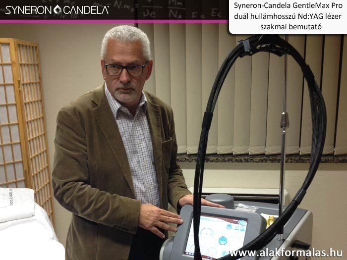 Hamish McNair, a Syneron-Candela vállalat alkalmazás specialistája kezelési bemutatót tart a Candela GentleMax Pro -val #syneron #candela #gentlemax #HairRemoval #orvosi #laser #centerkft  http://alakformalas.hu/Hirek-erdekessegek/candela-piacnyito-orvosi-rendezvenyrol.html
