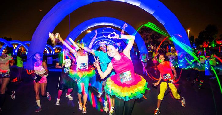 Check out these 8 crazy ways to make jogging fun! #electric run