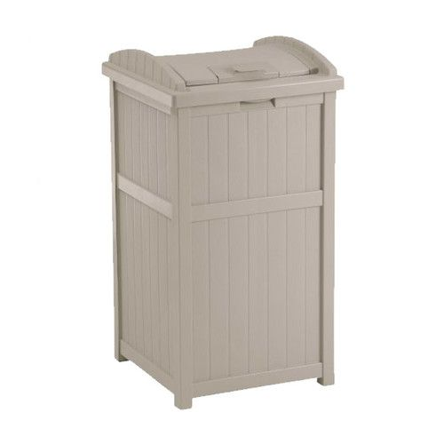 Found it at Wayfair - 33 Gallon Outdoor Trash Container Hideaway