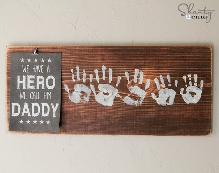cute fathers day gift ideas from baby