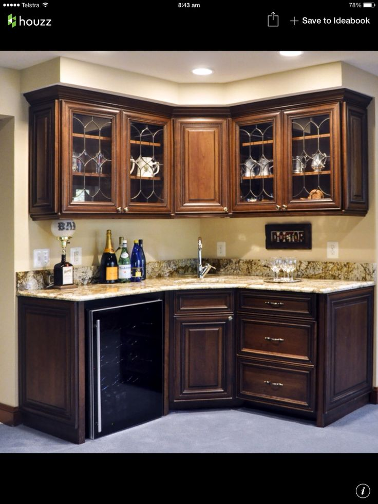 17 best images about basement on pinterest modern home for Kitchen corner bar ideas
