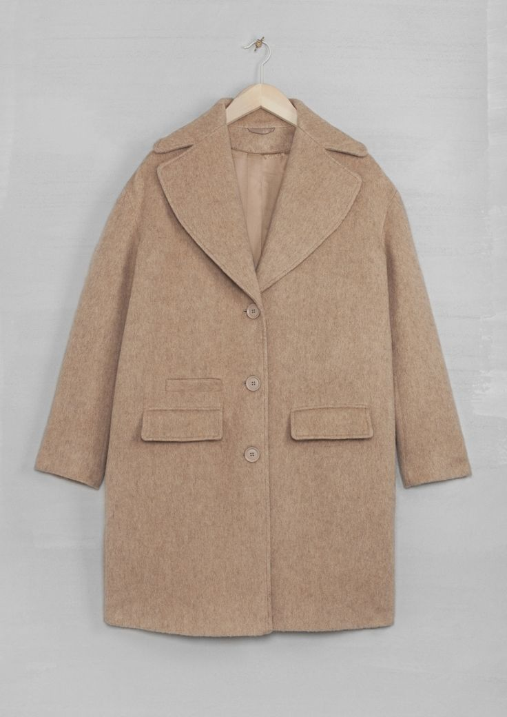 Wool-blend coat – & Other Stories £145