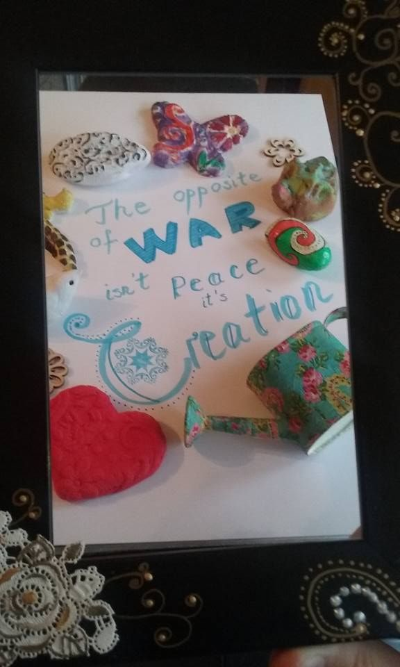 Art with Heart- Art Therapy Project Copyright @ Laura Ciocoiu