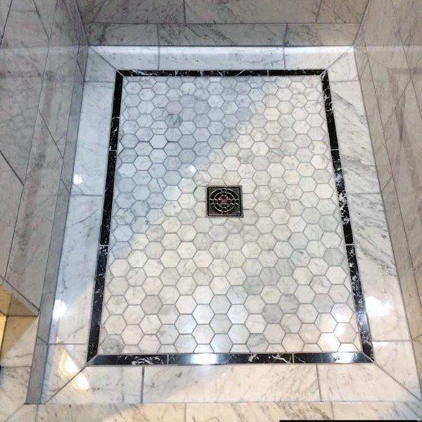 Top 50 Best Shower Floor Tile Ideas Bathroom Flooring Designs In
