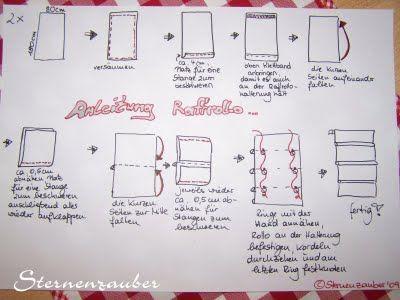 eine kleine anleitung rollos n hen fenster gardinen rollos. Black Bedroom Furniture Sets. Home Design Ideas