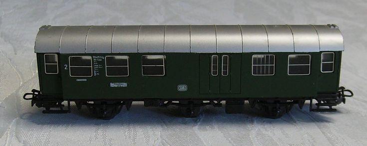 Märklin H0 4080 Personenwagen Umbauwagen 2. Kl. mit Gepäckabteil DB 1:87