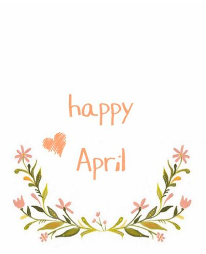 Happy April #Spring
