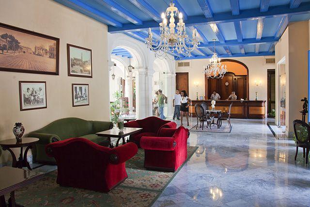 Historic Hotels of Havana - Hotel Santa Isabel #Havana #Cuba