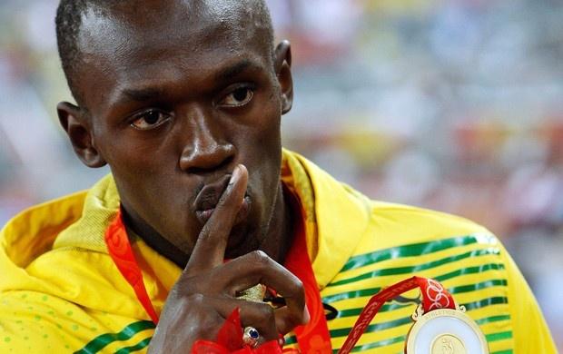 Usain Bolt 100m Olimpíadas 2008 (Foto: Getty Images)